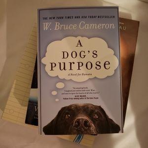 BOGO A dogs purpose novel w. Bruce cameron